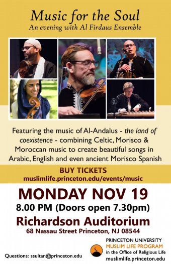 Music for the Soul: An Evening with Al Firdaus Ensemble | Muslim